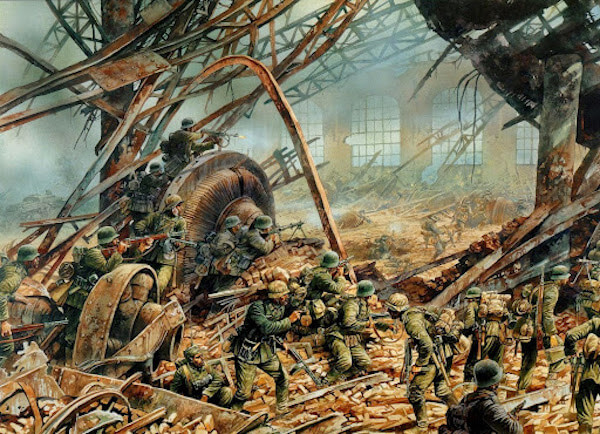 Assault on Red October steel plant - Stalingrad, 23Oc1942.jpg