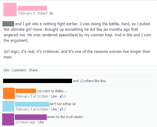 Don't Mess With Your Girl Facebook Status.png