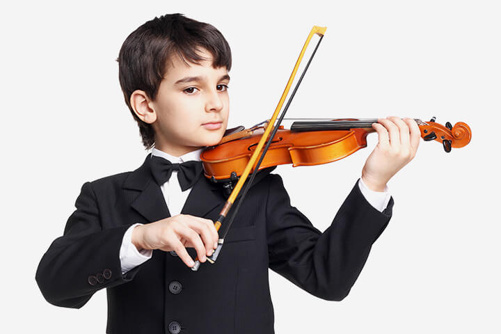 A Boy Lost His Dream Of Becoming A Violinist