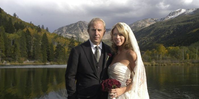 Kevin Costner & Christine Baumgartner