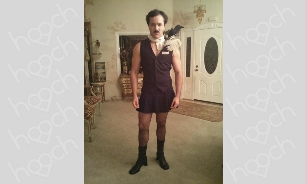 Edgar Allen Underdressed Poe