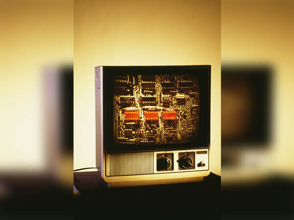 A TV Set From The '80s Held An Expensive Blast From The Past
