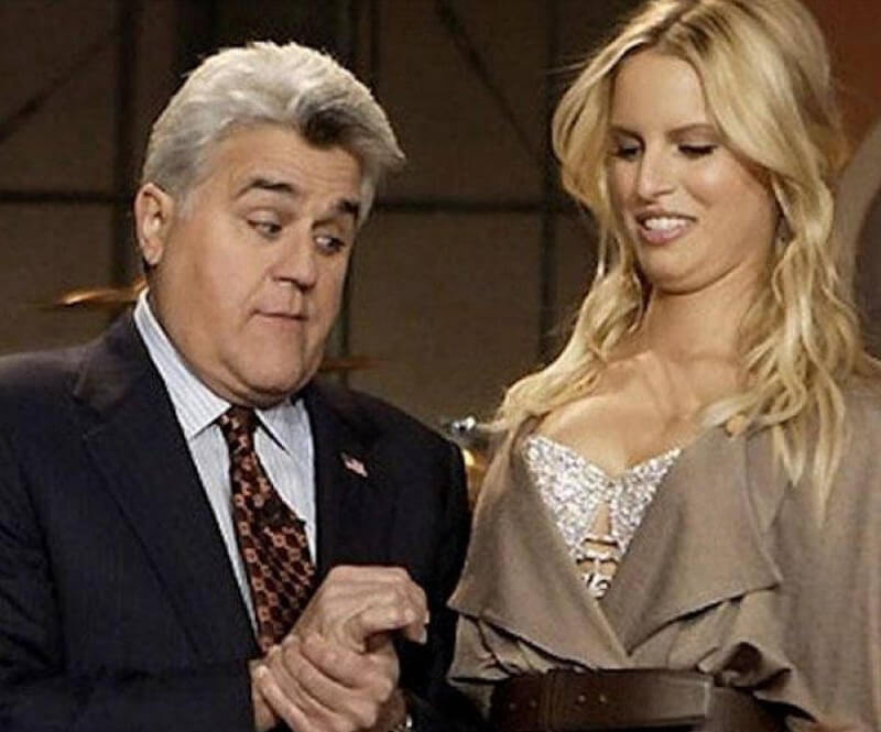 Jay Leno Can't Help But Stare