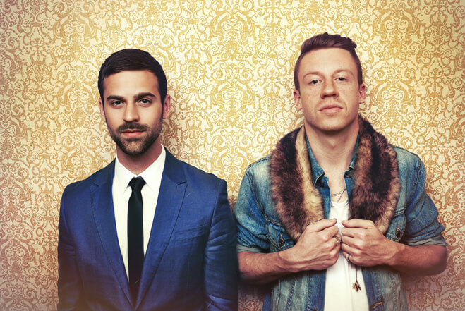 """50 dollars for a t-shirt that's some ignorant [expletive] [expletive]… I call that getting tricked by a business."" – Macklemore & Ryan Lewis"