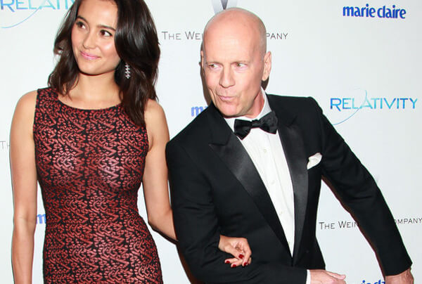 Bruce Willis & Emma Heming Willis
