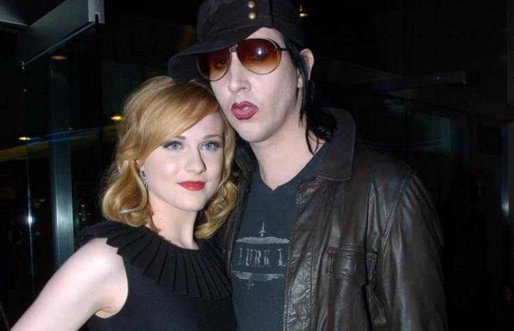 Evan Rachel Wood & Marilyn Manson