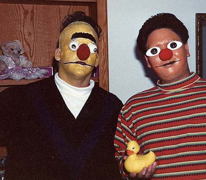 Creepy Bert And Ernie
