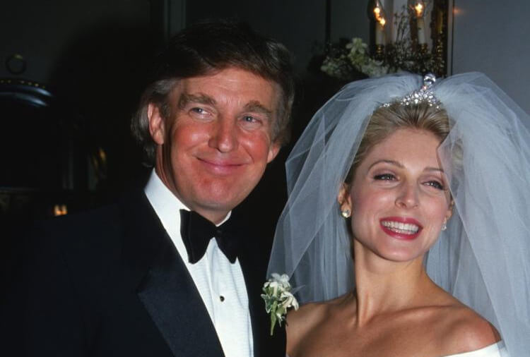 Marla Maples & Donald Trump