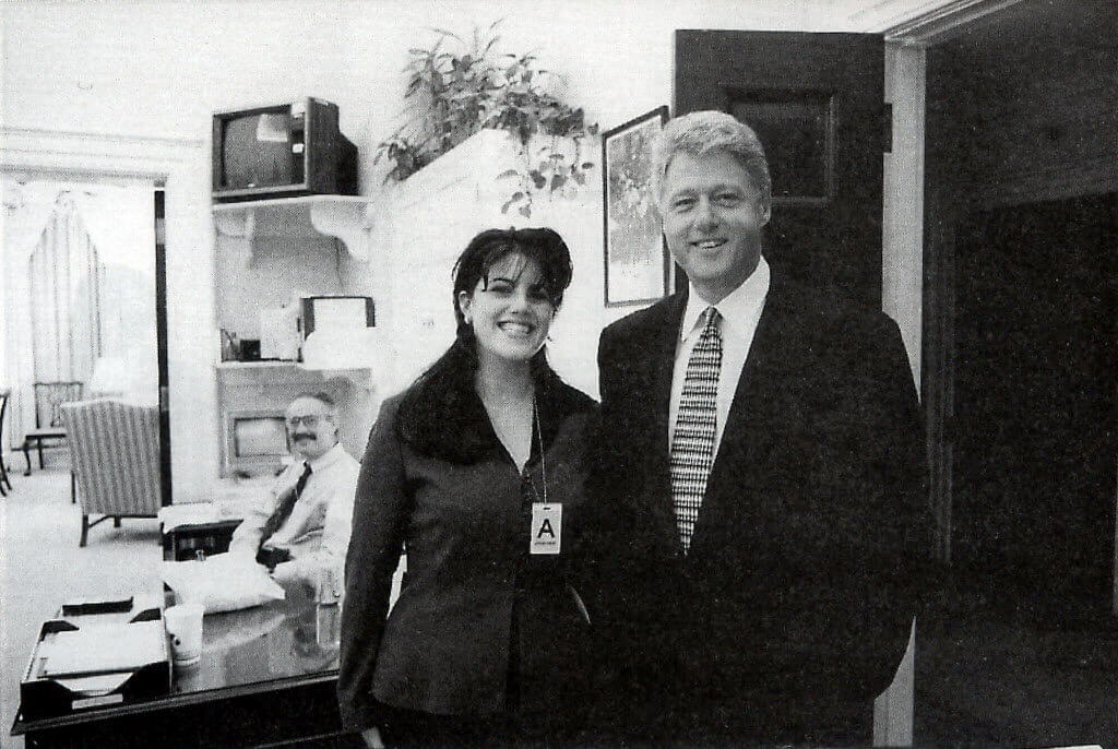 Monica Lewinsky & Bill Clinton