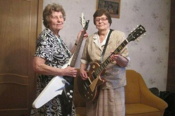 Rock On, Grannies