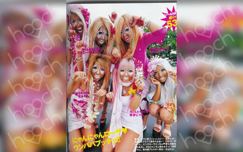 Ganguro Street Style Was Popular In The '90s