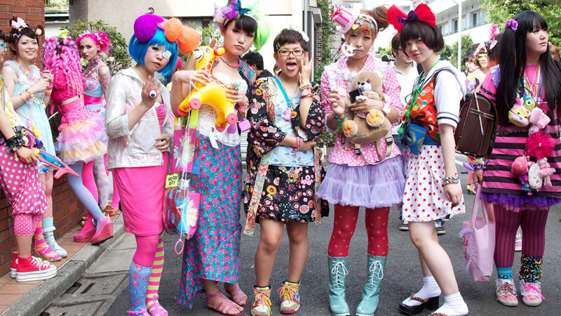 The Whimsical World Of Harajuku Street-Style