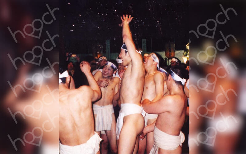 Japanese Men Strip Down For This Spiritual Festival