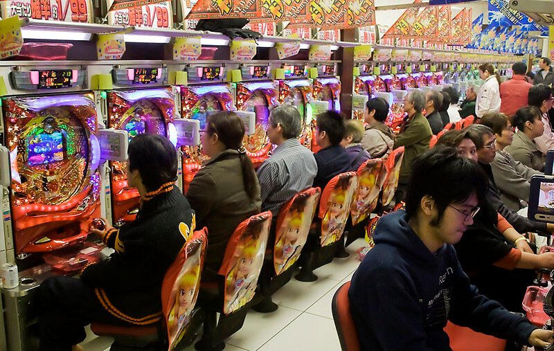 The Japanese Found A Way To Combine Pinball And Gambling