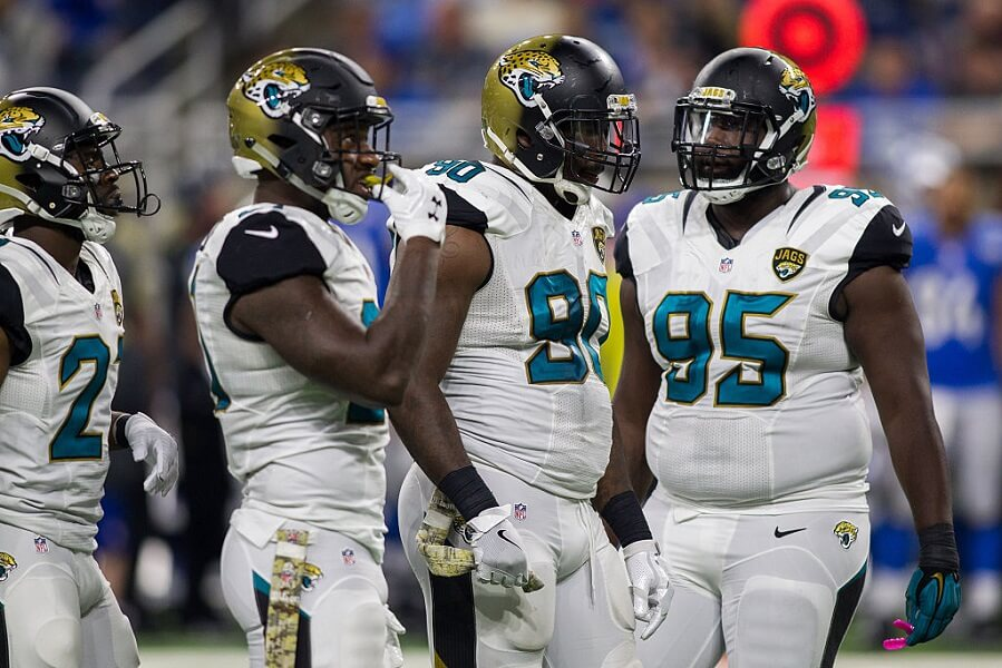 Jacksonville Jaguars defense upset with each other