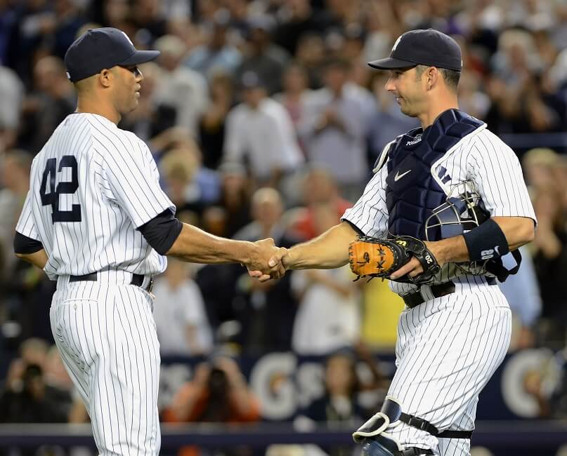 Jorge Posada used to urinate on his hands to build calluses