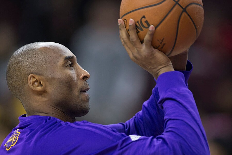 Kobe Bryant would warm up alone four hours before every game