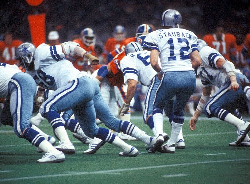 Roger Staubach was once sucker punched a teammate at his locker