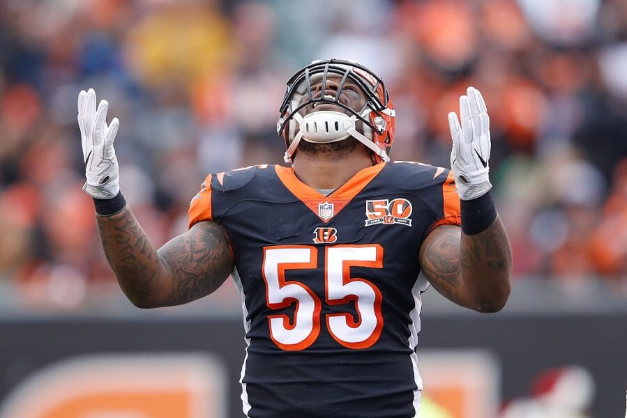 Vontaze Burfict once tackled a teammate low following ACL surgery