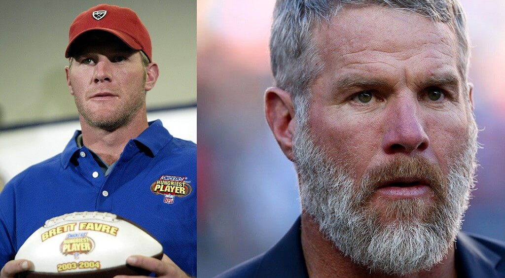 Brett Favre is a lot more beardy in his twilight years