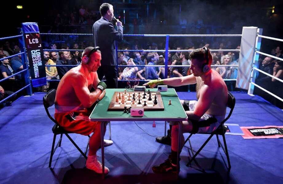 Chess boxing is a sport that involves both braun and brain!