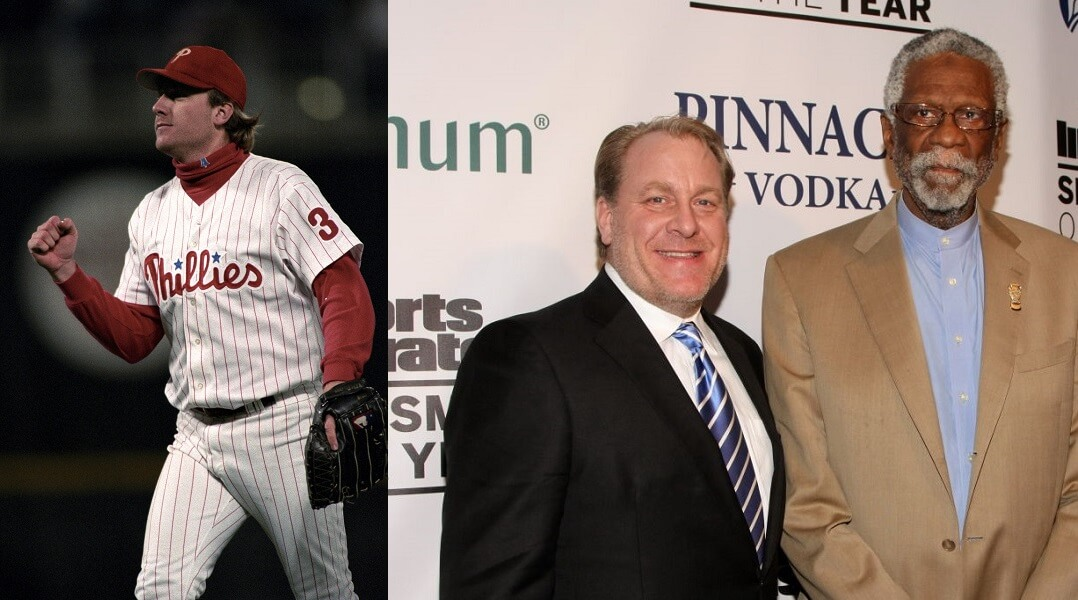 Curt Schilling looks more like a politician than a former MLB player these days