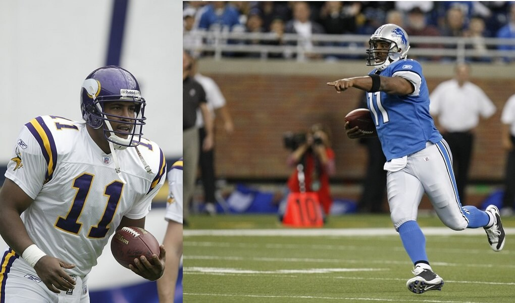 Daunte Culpepper is twice the athlete he used to be