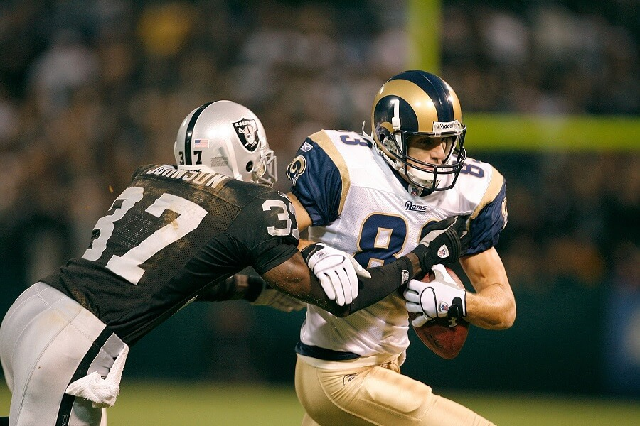 Drew Bennett was one of the biggest free agent flops the Rams ever had