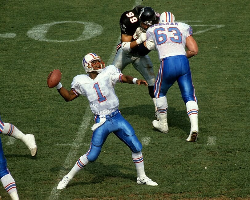 It took Warren Moon six years to break into the NFL and break racial borders