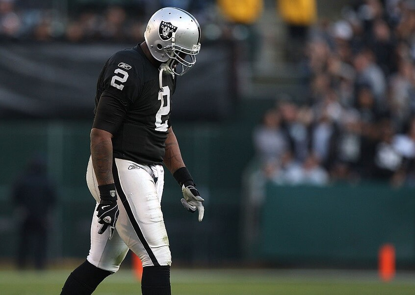JaMarcus Russell is one of the biggest draft busts of all time