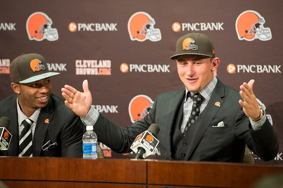 Johnny Manziel was not the savior of the Cleveland Browns
