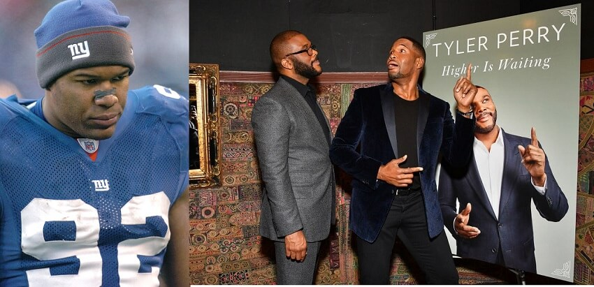 Michael Strahan is a lot happier since retiring from the NFL