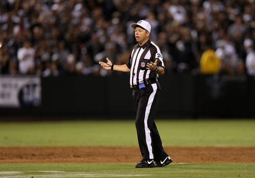 Replacement referees was a disaster for the NFL in 2012