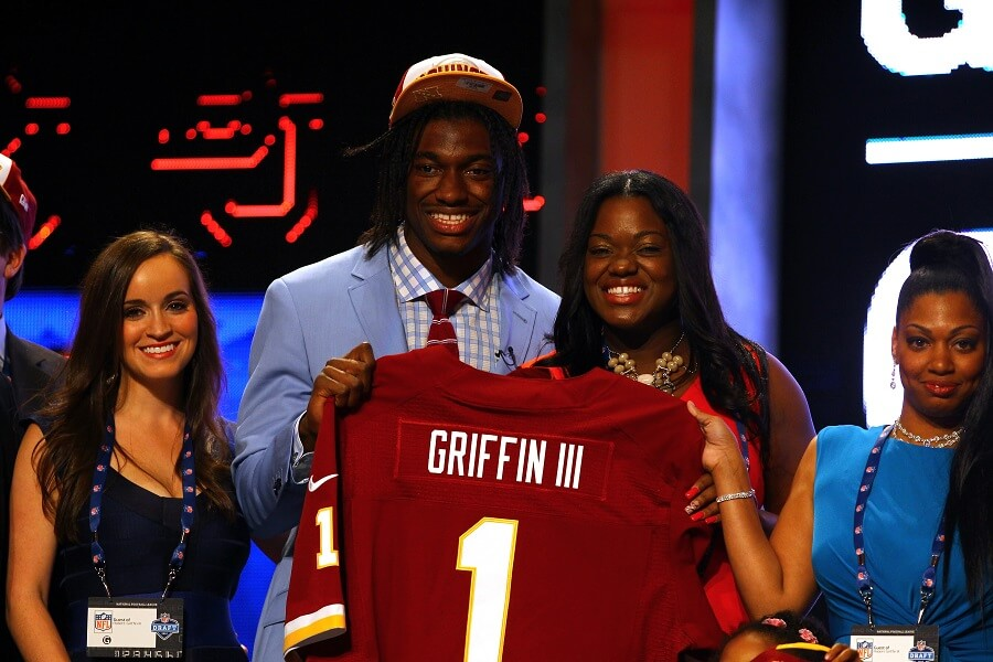 Robert Griffin III cost the Redskins years of draft picks