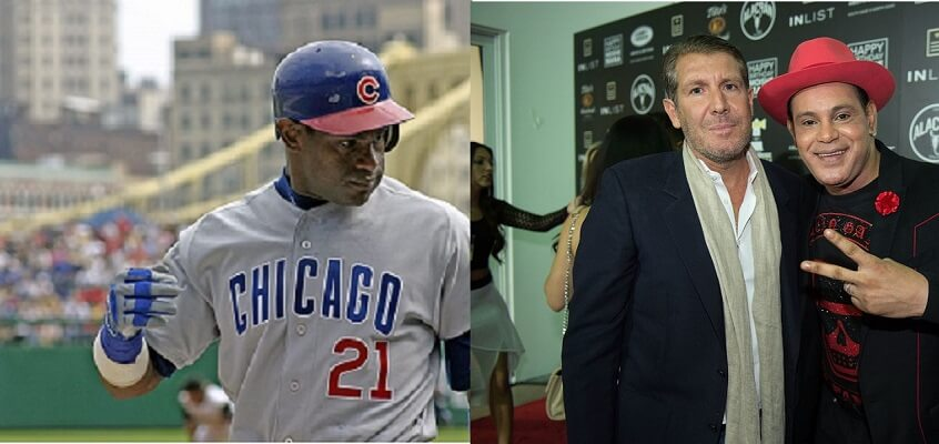 Sammy Sosa is a lot lighter than than he used to be