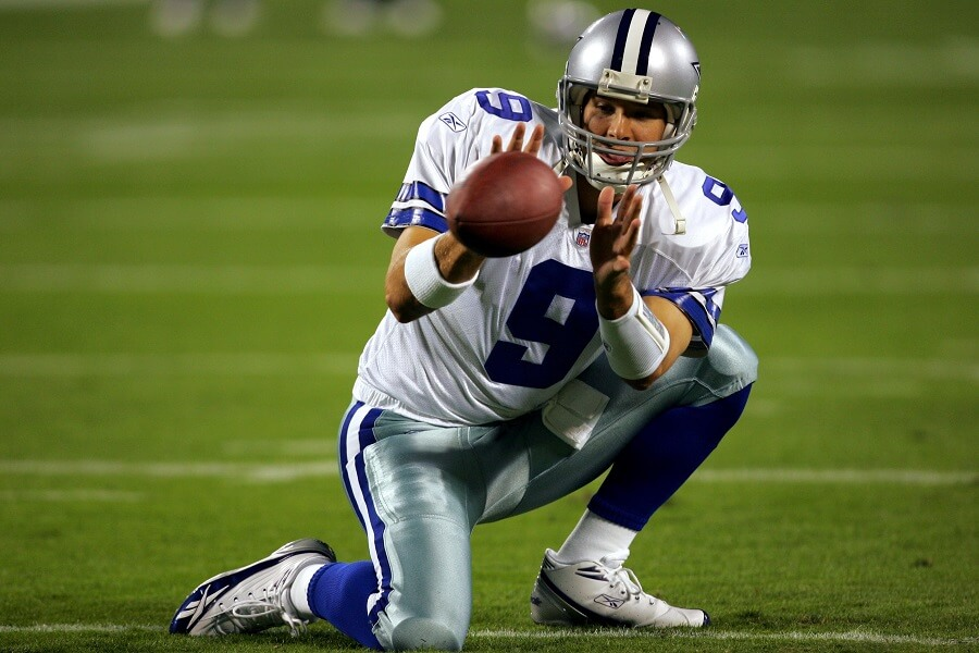 Tony Romo botched a snap in a playoff game and never lived it down