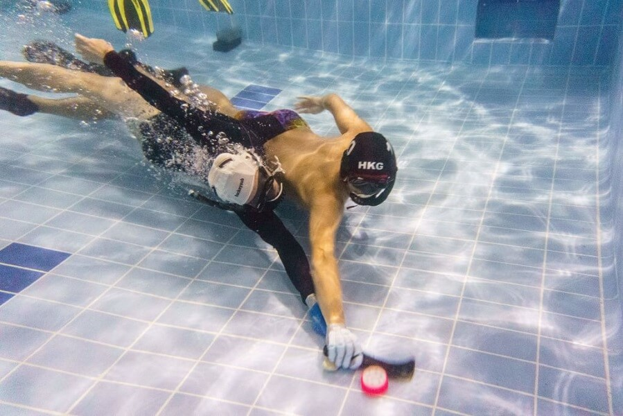 Underwater Hockey is a new take on an old sport