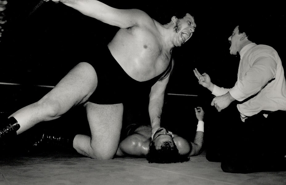 Andre The Giant was a figure of love and happiness outside the ring