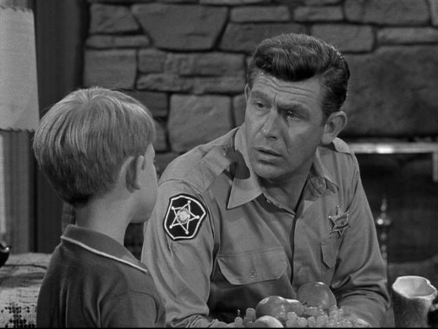 Andy Griffith homage to his dad