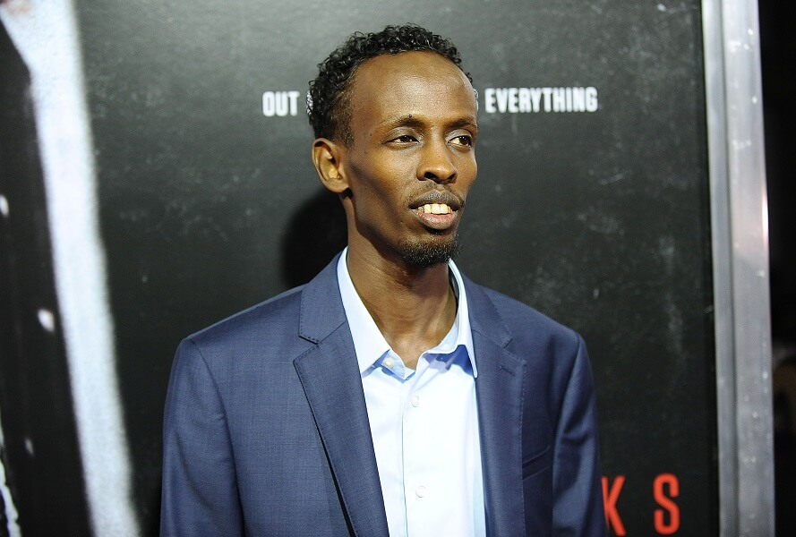Barkhad Abdi was paid just above the minimum for Captain Phillips