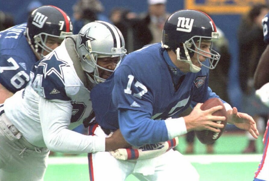 Charles Haley is one of three players with five Super Bowl rings
