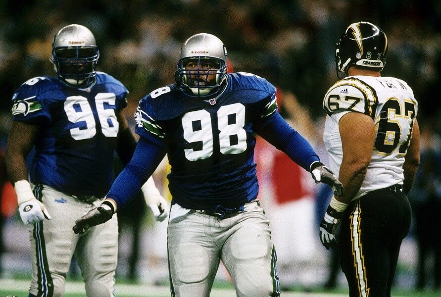 Cortez Kennedy is an all-tim egreat Seattle Seahawk defender