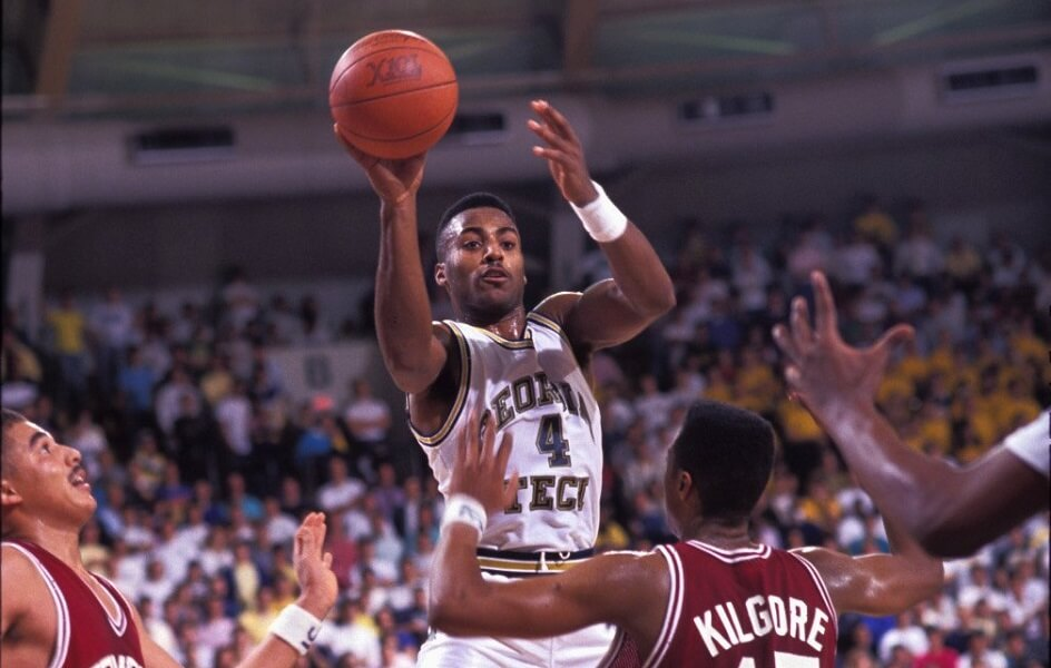 Dennis Scott was legendary three point shooter at Georgia Tech