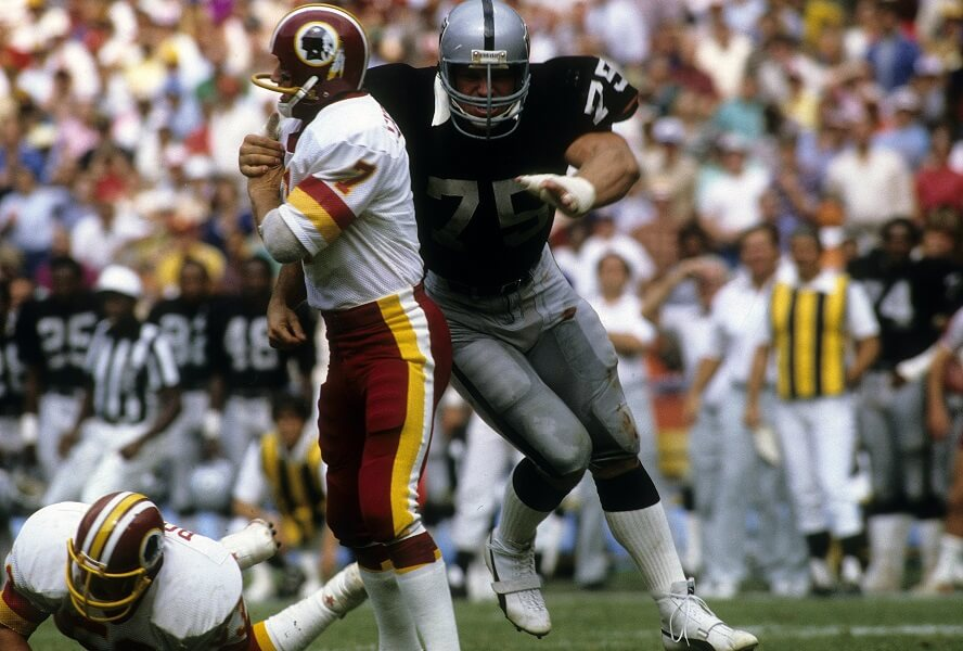 Howie Long was  forced to be reckoned with during his NFL career.