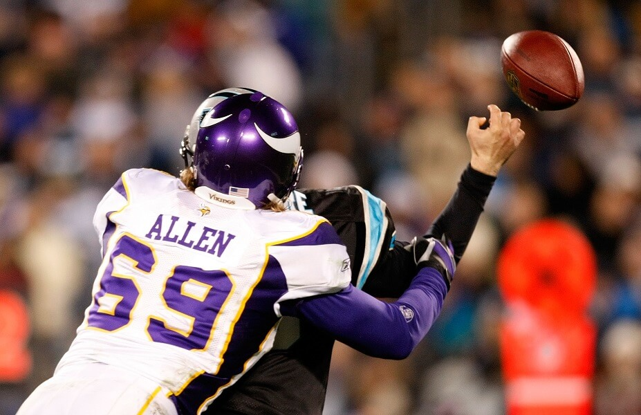Jared Allen will always be remembered one of the greatest Minnesota Viking ever