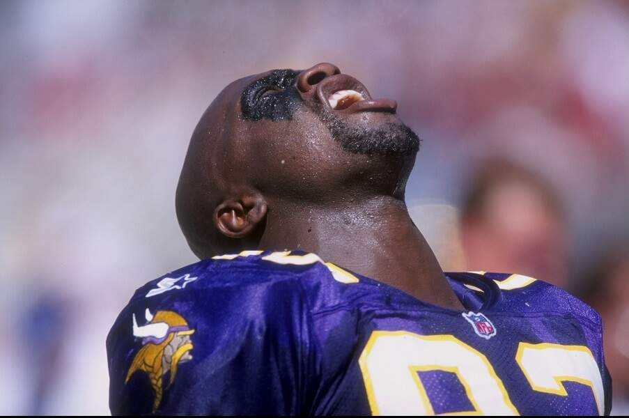 John Randle had 137 career sacks in his Hall of Fame career