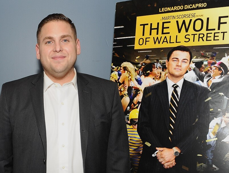 Jonah Hill was barely paid a salary to co-star in The Wolf of Wall Street