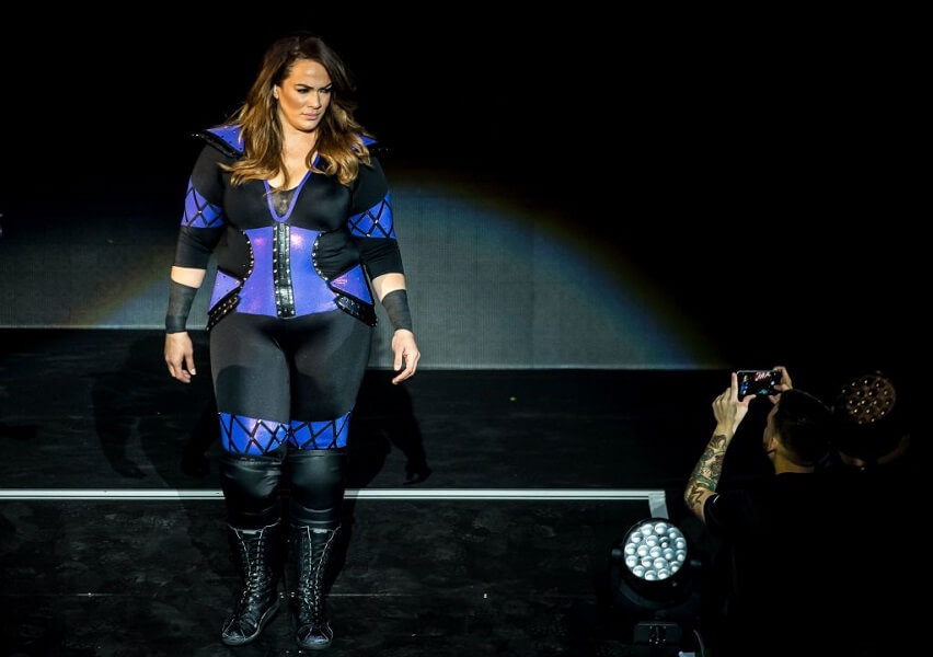 Nia Jax has a body positive message for fans