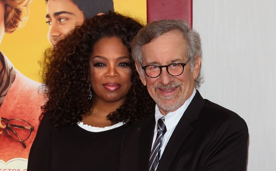 "Oprah starred in ""The Color Purple"" directed by Steven Spielberg in 1985"