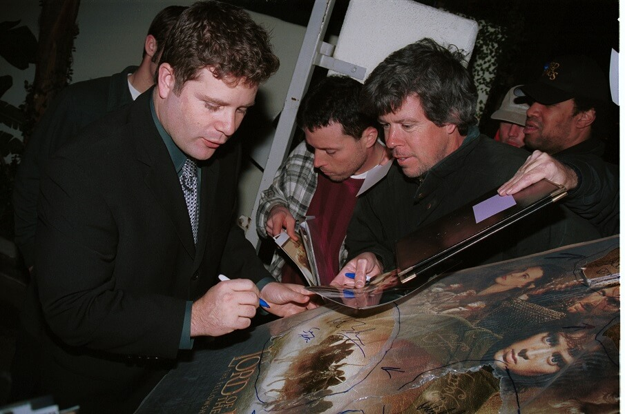 Sean Astin became wildly popular after the Lord of the Rings trilogy came out